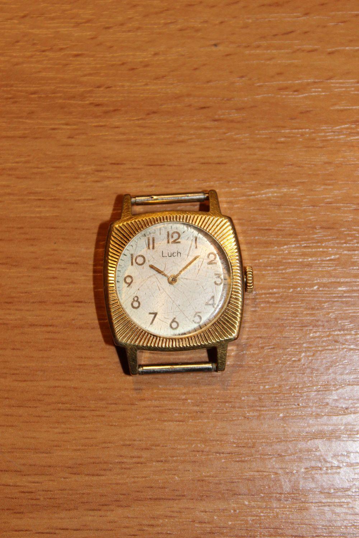 Позолоченные часы луч купить часы женские наручные брендовые 2016 цена