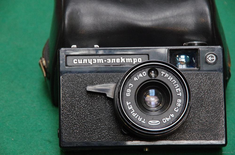 Силуэт электро фотоаппарат