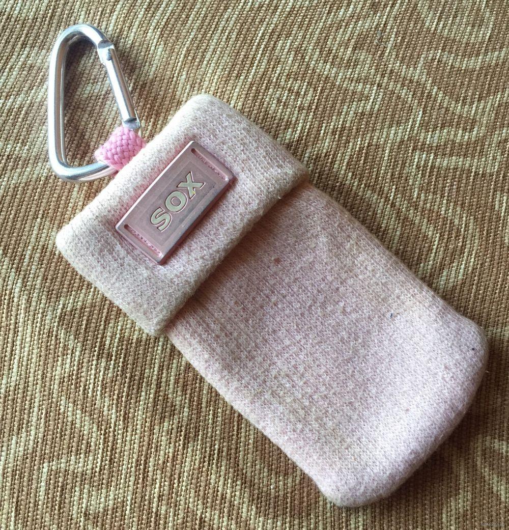 Sox вязаный тканевый чехол для телефона носок купить в минске
