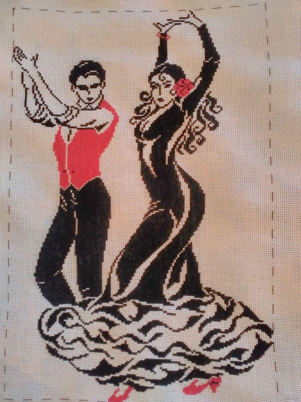 Вышивка танцующая пара купить