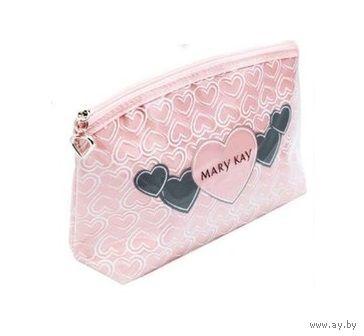 0513593ffe60 Косметичка нежно-розовая с сердечками Mary Kay (Мэри Кэй, Мери Кей ...